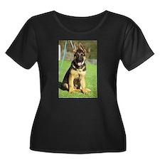 Cute German shepherd dog T