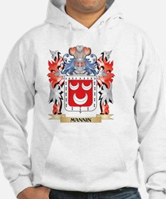 Mannin Coat of Arms - Family Crest Sweatshirt