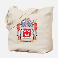 Mannion Coat of Arms - Family Crest Tote Bag