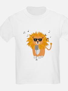 Cool music lion T-Shirt