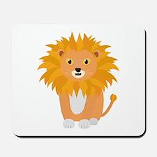Cute happy Lion Mousepad