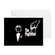 pugfather main3 copy Greeting Cards