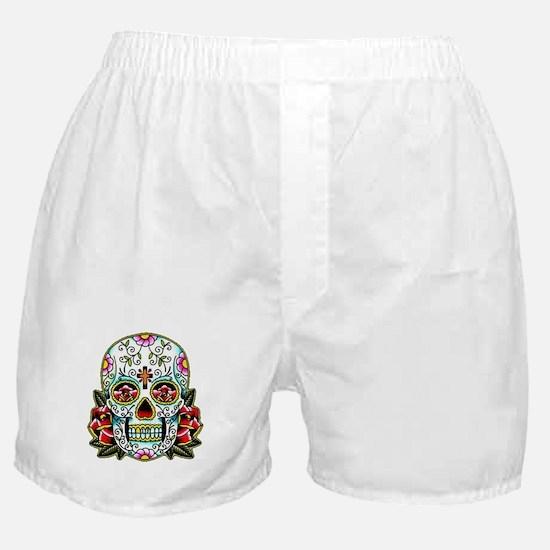 Sugar Skull 067 Boxer Shorts
