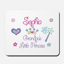 Sophia - Grandpa's Little Pri Mousepad