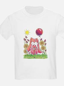 Bunny Balloon Smileys T-Shirt