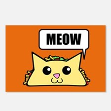 Taco Cat Meow OBG Postcards (Package of 8)