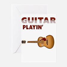Cute Guitar Greeting Cards (Pk of 10)