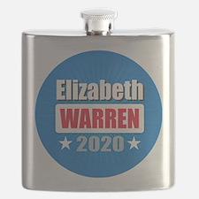 Elizabeth Warren 2020 Flask
