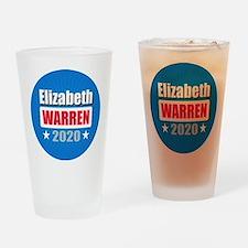 Elizabeth Warren 2020 Drinking Glass