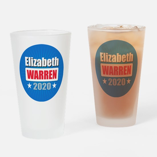 Elizabeth Warren 2020 Drinking Glass