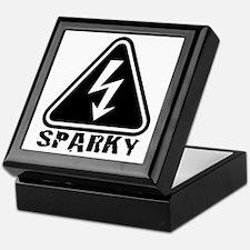 Cute Sparky Keepsake Box