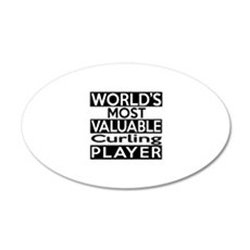 Most Valuable Curling Player Wall Decal
