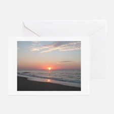 edisto note card sunrise 1 Greeting Cards