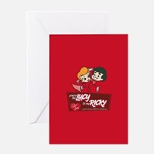 You're The Lucy To My Ricky Greeting Card