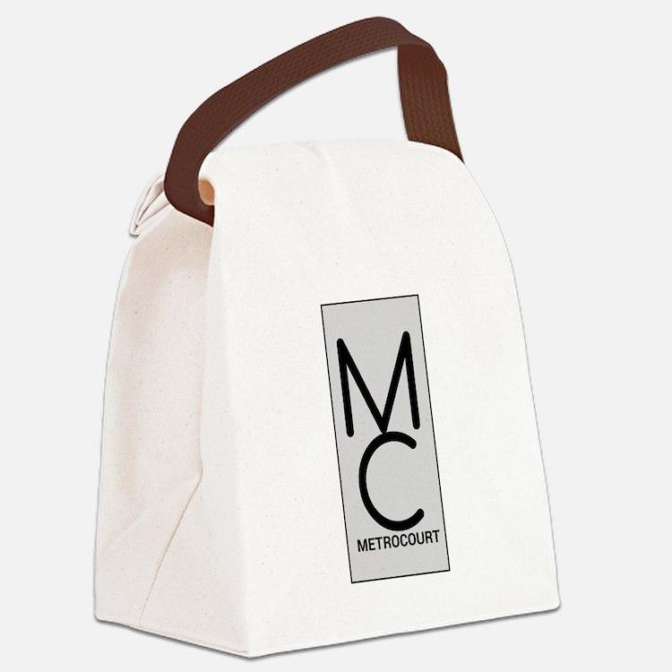 General Hosp Metro Court Canvas Lunch Bag