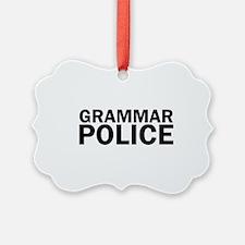 Grammar Police Funny Cute Ornament