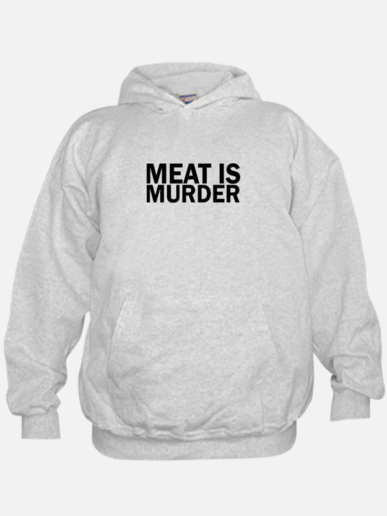 Meat Is Murder Vegetarian Vegan Bold Sweatshirt