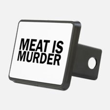 Meat Is Murder Vegetarian Hitch Cover