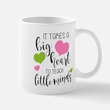 Big Heart Teacher Mugs
