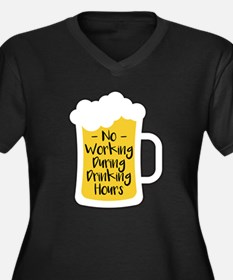 Drinking Hours Plus Size T-Shirt