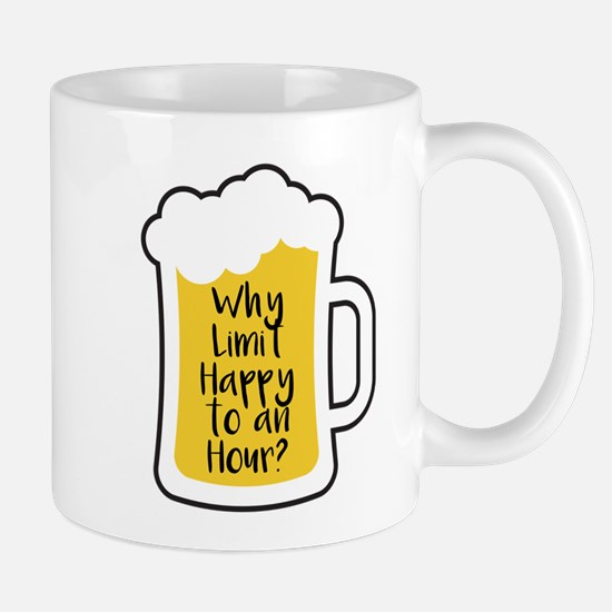 Limit Happy Hour Mugs