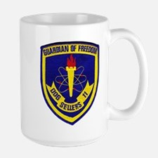 USS SELLERS Large Mug