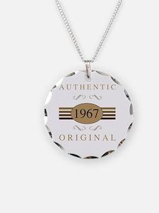 Cute 50th birthday Necklace Circle Charm