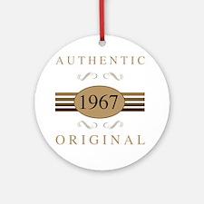 Unique 1967 Round Ornament
