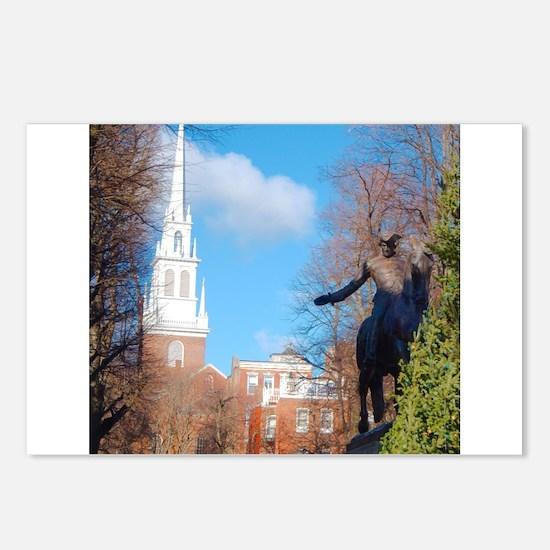 Paul Revere Postcards (Package of 8)