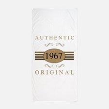Authentic 1967 Birthday Beach Towel