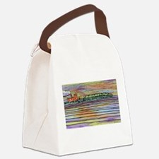 River Tug Canvas Lunch Bag