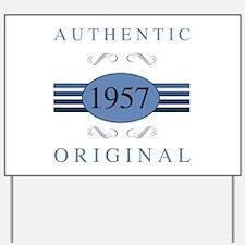 Authentic 1957 Birthday Yard Sign