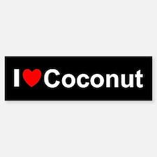 Coconut Sticker (Bumper)