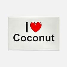 Coconut Rectangle Magnet