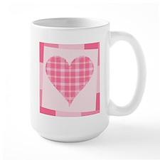 Pink Heart Mug