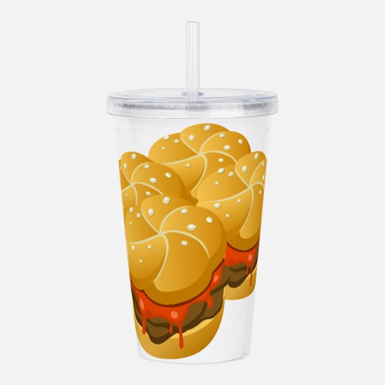 BBQ Sandwiches Acrylic Double-wall Tumbler