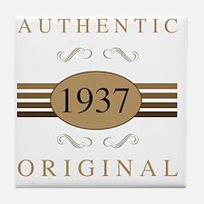 Cool 1937 Tile Coaster