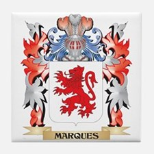 Marques Coat of Arms - Family Crest Tile Coaster