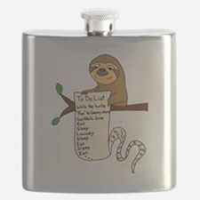 Unique Sloth Flask