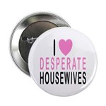 I Love Desperate Housewives Button