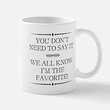 I'm The Favorite Mugs