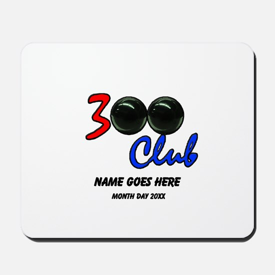 Personalized 300 Perfect Game Bowling/Bo Mousepad