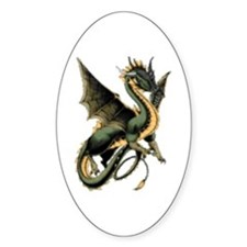 Great Dragon Oval Decal