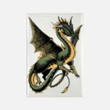 Great Dragon Rectangle Magnet