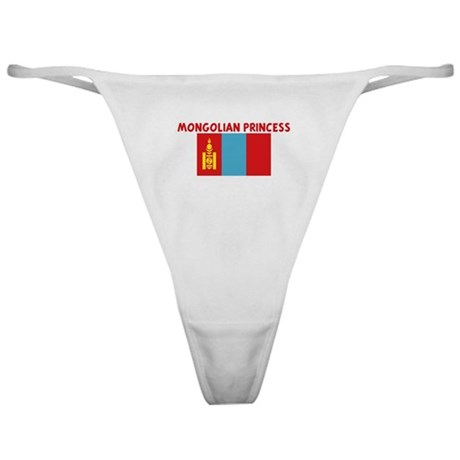 MONGOLIAN PRINCESS Classic Thong
