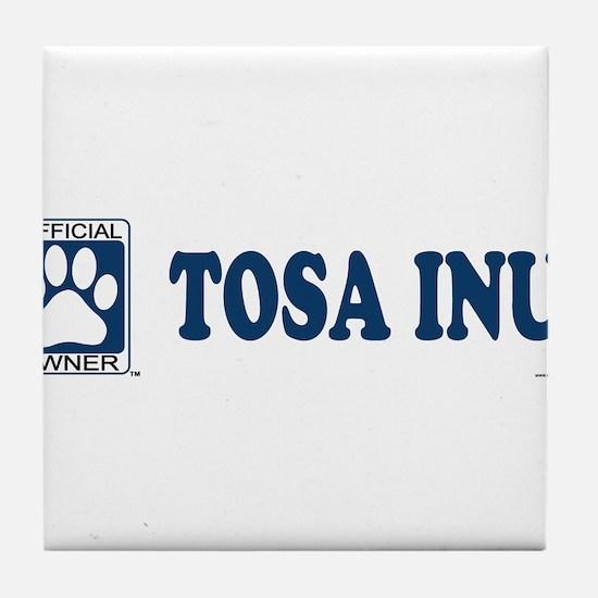 TOSA INU Tile Coaster