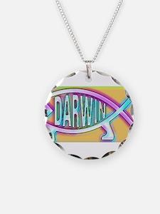 Original Darwin Fish (Neon) Necklace