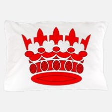 Ruby Crown Pillow Case