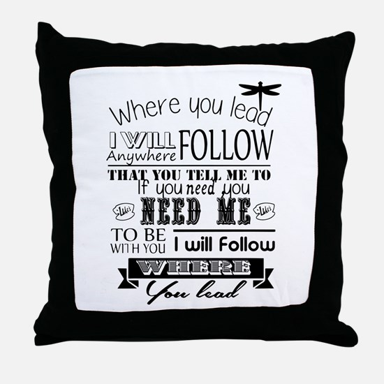 Unique Lead Throw Pillow