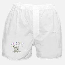 Birthday Dog Westie Terrier Boxer Shorts